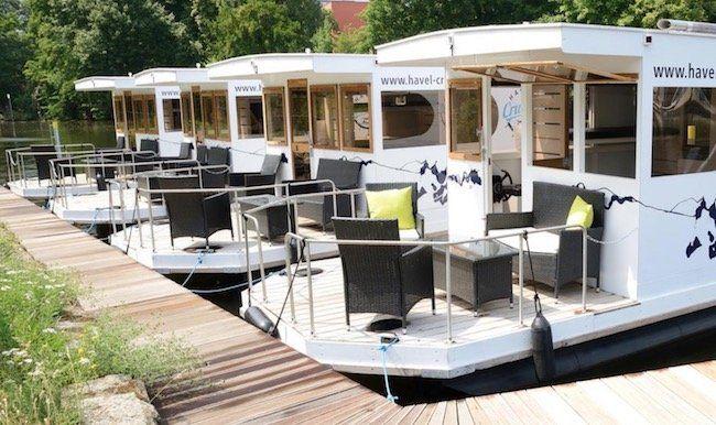 Hausboot auf der Havel   z.B. 3 Nächte zu fünft ab 72€ p.P. (auch in den Sommerferien)