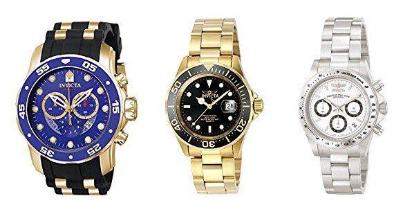 Invicta Uhren im Amazon UK Tagesangebot   z.B. Invicta Speedway 9224 für 80€ (statt 103€)