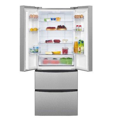 Bomann KG 2198 IX French Door Kühlschrank mit NoFrost und A+ für 529€ (statt 599€)