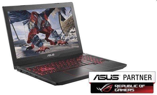 Asus FX503VD DM079   15,6 Zoll Gaming Notebook mit GTX 1050 für 666€ (statt 799€)