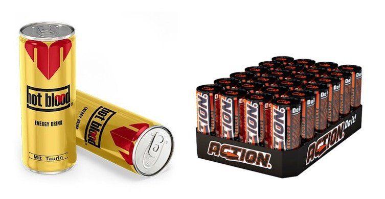 Energy Drinks bei eBay (pfandfrei)   z.B. 72er Pack Energy X Drink 250ml für 24,90€