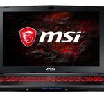 MSI GL62MVR – 15,6 Zoll Full HD Gaming Notebook mit GTX 1060 für 989€ (statt 1.199€)