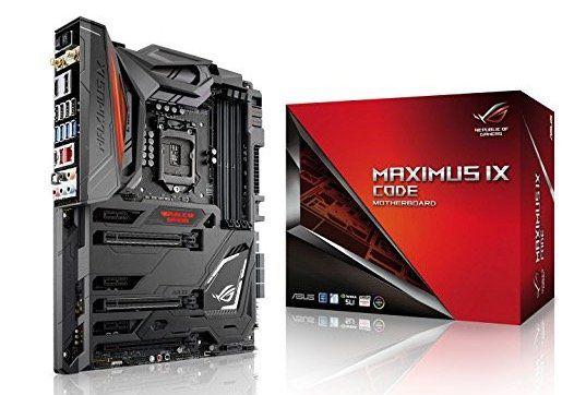Asus ROG Maximus IX Code Mainboard (Sockel 1151) für 185€ (statt 290€)