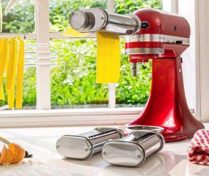 KitchenAid 5KSMPRA 3 teiliger Nudel Aufsatz ab 100€ (statt 129€)