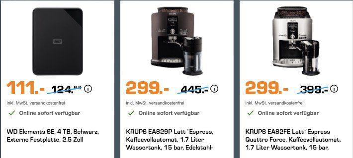 Saturn Olympia Sale mit günstigen Smartphones, Kaffeevollautomaten uvm.   z.B. Dyson V6 Flexi für 249€ (statt 290€)