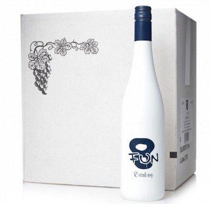 12 Flaschen je 0,75L Fun 8 Deutscher Riesling Landwein für 29,90€ (statt 60€)