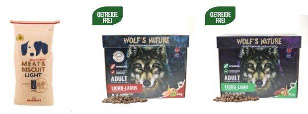 15% Rabatt für Neukunden bei Lucky Pet   z.B. 15kg Wolf's Nature Wilder Büffel für 56,02€ (statt 64€)
