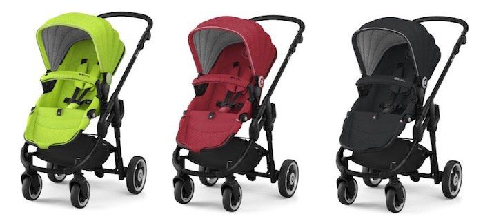 Kiddy Evoglide 1 (2017) Kinderwagen in verschiedenen Farben für je 234,99€ (statt 360€)