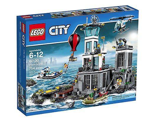 Lego City   Polizeiquartier auf der Gefängnisinsel (60130) für 43,49€ (statt 70€)