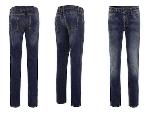 Camp David Jeans mit Used Optik in Regular Fit für 74,90€ (statt 106€)