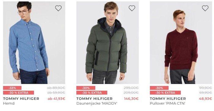 Sehr guter Tommy Hilfiger Sale mit 30% Extra Rabatt   z.B. Schnürboots Curtis für nur 69,93€ (statt 96€)