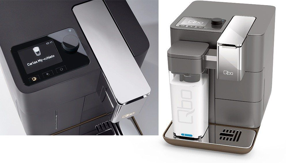 Qbo You Rista Kaffeemaschine mit Alexa Anbindung + Milk Master + Amazon Echo Dot für 224,10€ (statt 289€)