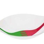 Koziol Leaf L+ Salatschale mit Besteck für 15,95€ (statt 31€)