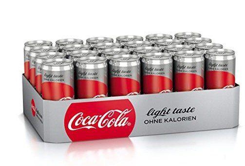24er Tray Coca Cola light (330ml Dosen) ab 8,66€
