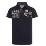 Camp David Weekend-Deals – z.B. Poloshirt mit großer Logo-Applikation für 39,95€ (statt 50€)