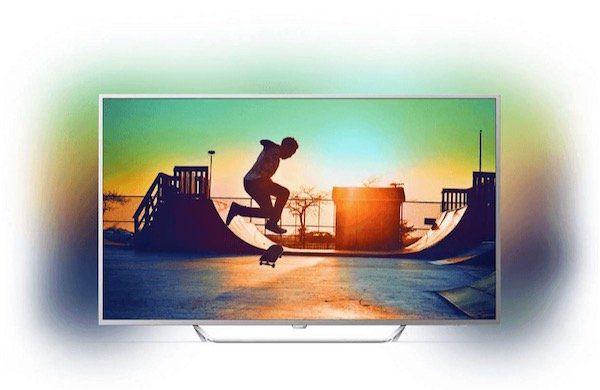Philips 65PUS6412   65 Zoll 4k Fernseher mit 3 seitigem Ambilight für 999€ (statt 1.160€)