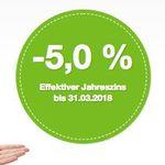 KNALLER oder Fehler? Smava Kredit über 1.000€ und nur 923€ zurückzahlen dank -5% Jahreszins!