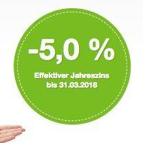 Letzter Tag   KNALLER! Smava Kredit über 1.000€ und nur 923€ zurückzahlen dank  5% Jahreszins!