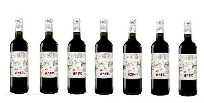 Nembus Tinto 2016   7 Flaschen spanischer Rotwein (trocken) für 27,65€
