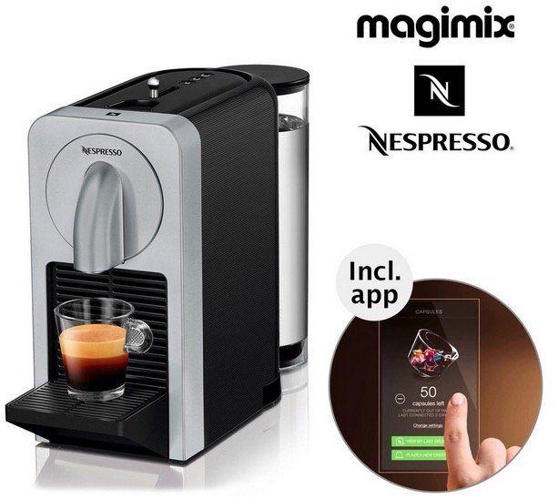 Nespresso Prodigio Kaffeemaschine mit App Steuerung für 93,95€ (statt 118€)