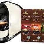 Cafissimo Pure Kapselmaschine + 30 Kapseln für 25€ (statt 49€)