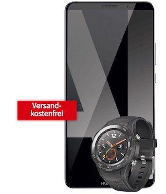 Huawei Mate 10 Pro + Huawei Watch 2 für 29€+ Vodafone Flat mit 8GB für 36,99€ mtl.