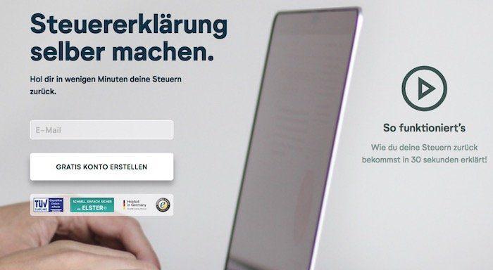 Wundertax Online Steuererklärung für 24,90€ (statt 35€)