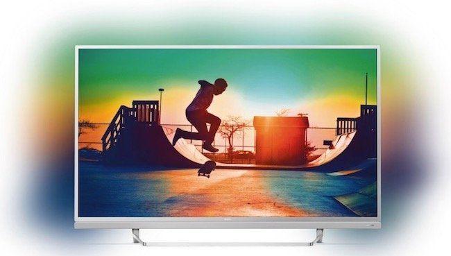 Philips 55PUS6482   55 Zoll 4k Fernseher mit 3 seitigem Ambilight ab 806,94€ + 205,25€ in Superpunkten
