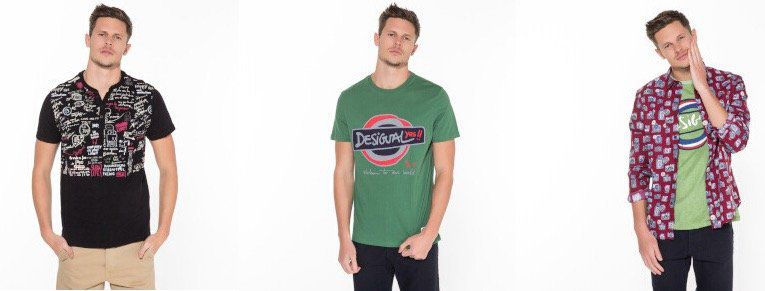 Desigual Sale mit bis zu 70% Rabatt bei Vente Privee   z.B. T Shirts ab 19,90€