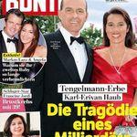 """35 Ausgaben der """"Bunte"""" für 129,50€ + 120€ Verrechnungsscheck"""