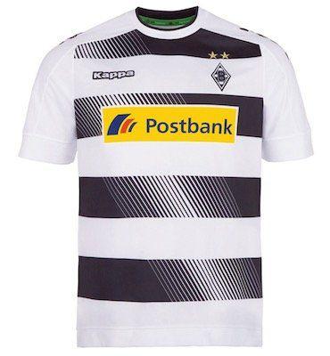 Kappa Borussia Mönchengladbach Herren Heim Trikot für 11,72€ (statt 24€)   nur 2XL und 4XL!