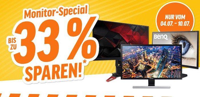 20% Rabatt auf ausgewählte Monitore von BenQ und Samsung bei Notebooksbilliger   z.B. Samsung U28E850R für 287,20€ (statt 348€)