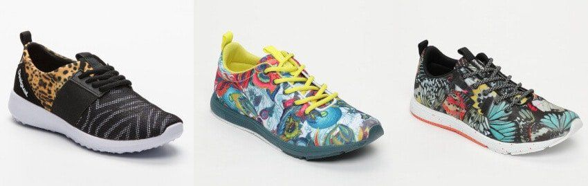 Desigual Damen Sportswear Sale bei vente privee   z.B. Sneaker Metamorph 39,99€ (statt 80€)