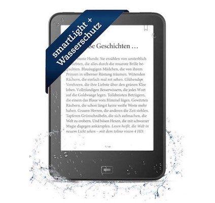 tolino vision 4 HD eBook Reader für 119€ (statt 139€)