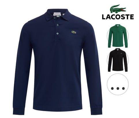 Lacoste Herren Langarmpolos für je 55,90€ (statt 69€)