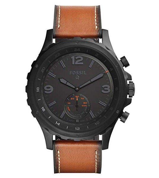 Fossil Q Nate Hybrid Smartwatch für 84,72€ (statt 120€)