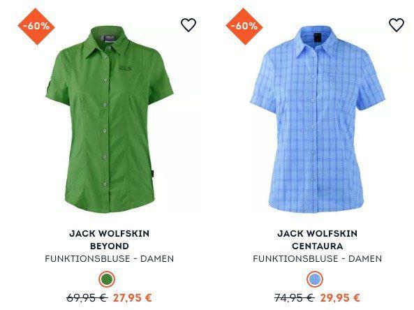 Bis zu 60% Rabatt auf Outdoor Marken wie Jack Wolfskin bei Sportscheck