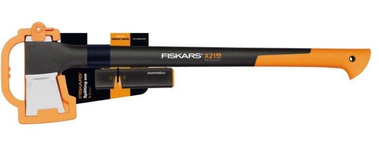 Fiskars X 21 L Spaltaxt inkl. Axt Messerschärfer ab 32€ (statt 52€)