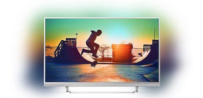 Philips 55PUS6482 55 4k Fernseher mit 3seitigem Ambilight für 528,90€ (statt 699€)