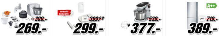 Media Markt Bosch Tiefpreisspätschicht: z.B. BOSCH MMBM7G3M Standmixer Set für 50€ (statt 66€)