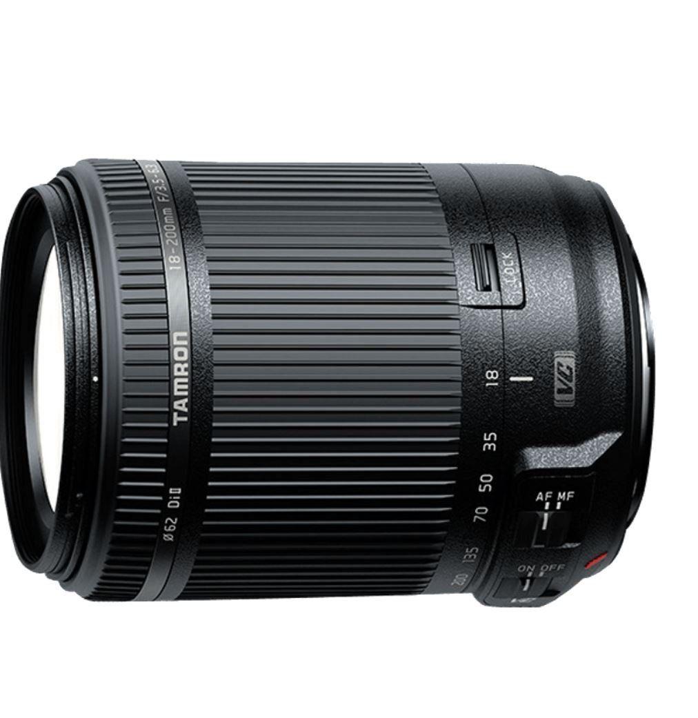 TAMRON 18 200mm Canon Objektiv f/3.5 6.3 Di II VC für 155€ (statt 177€)