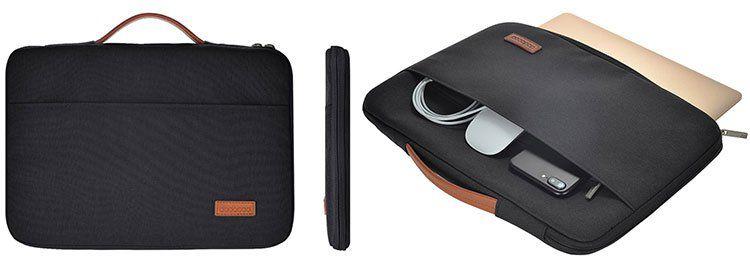 Wasserabweisende Laptoptasche für Geräte bis zu 13,3 Zoll für 7,87€
