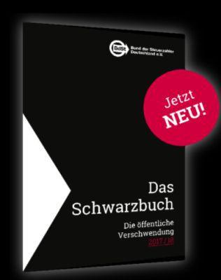 Das Schwarzbuch 2017/18 (Bund der Steuerzahler) kostenlos anfordern