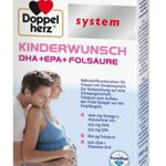 Doppelherz   Kinderwunsch  oder Schwangerschafts Produktmuster kostenlos anfordern