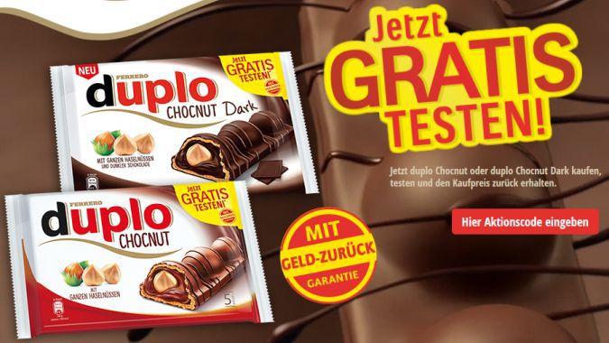 Duplo Chocnut gratis