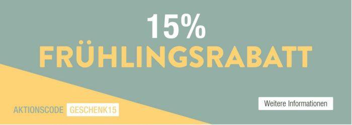 Galeria Kaufhof mit 15% Frühlingsrabatt auf fast alles