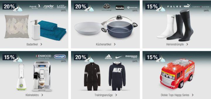 20% Rabatt auf Küchenartikel der Marken Ballarini, Berndes, Schulte Ufer uvm.   Galeria Kaufhof Mondschein Angebote