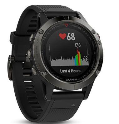 GARMIN FENIX 5 Saphir   Sport Smartwatch für 421,85€