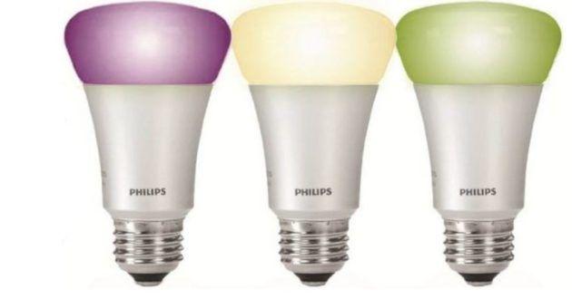 Philips hue White & Color Ambiance Starter Set: 3 x E27 + Bridge für 99€ (statt 154€)