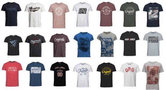 Jack & Jones Traffic, Hermosa, Swell und andere Herren Motiv T Shirts für je 9,99€